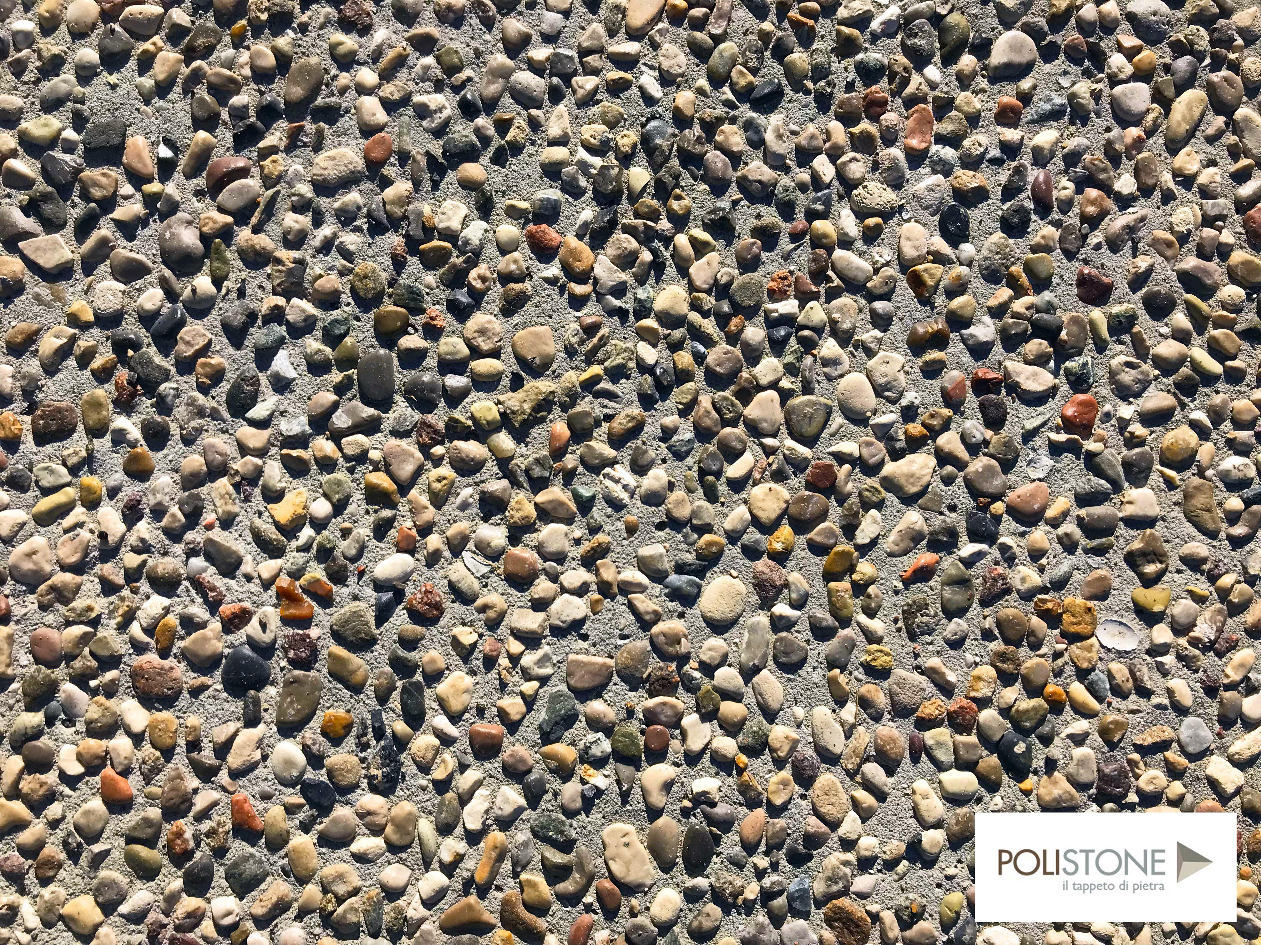 Pavimento In Sassolavato Per Esterno Polistone Pavimenti