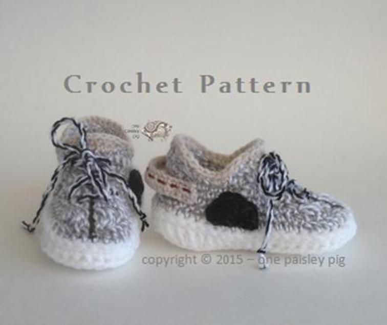 Yeezy Boost 350 Inspired Baby Shoes | Craftsy | botines | Pinterest ...