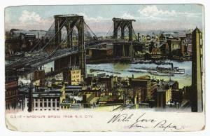Brooklyn Bridge from N. Y. City