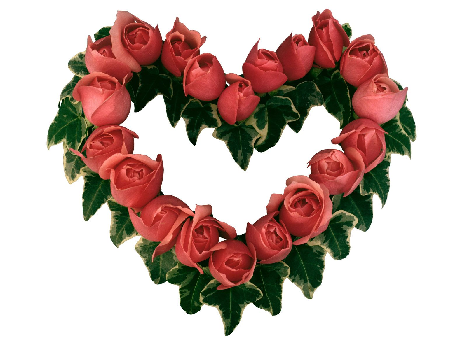 Wallpapers heart flower heart flower 20 top images new images valentine heart dhlflorist Image collections