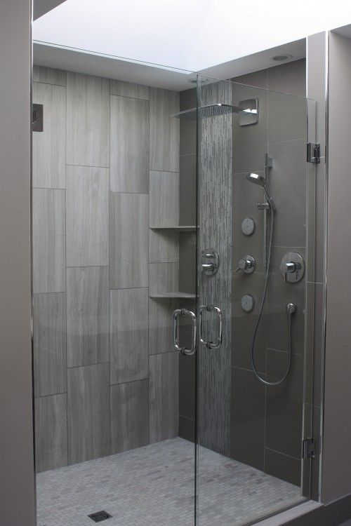 Gray Shower Gray Shower Tile Bathroom Design Bathroom Shower Tile