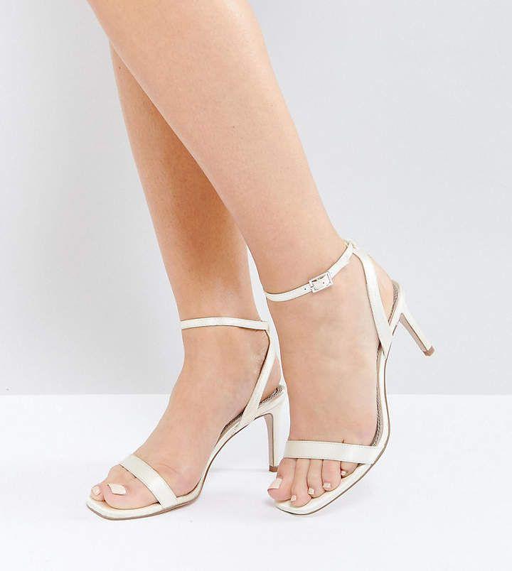 a8db6a3f233 Asos Hideaway Wide Fit Heeled Sandals  bride  weddinginspiration  bridal   bridalinspiration  bridallingerie