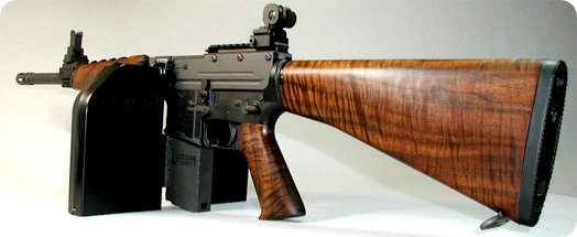 Superior Wood Furniture For AR 15!!   Calguns.net