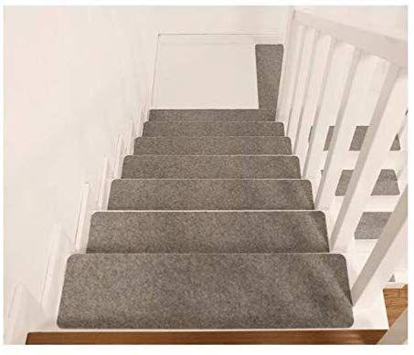 Best Deen Stair Tread Mats 6 Piece Set Rectangle Matching 400 x 300