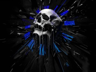 3d Wallpapers Melting Skull Clock Wallpaper Tipos De Craneo Huesos De La Cabeza Craneo Humano