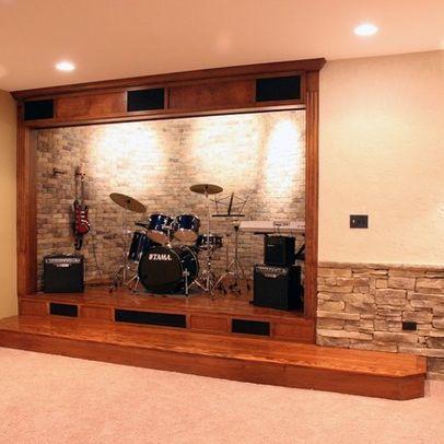 Music Studio Design Ideas | Kevin | Pinterest | Music studios ...