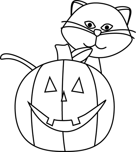 Cat black and white cool collection of cat cliparts images pictures design. Clip Art Black And White Black And White Cat And Jack O Lantern Clip Art Black And White Cat Halloween Graphics Halloween Clips Halloween Pictures