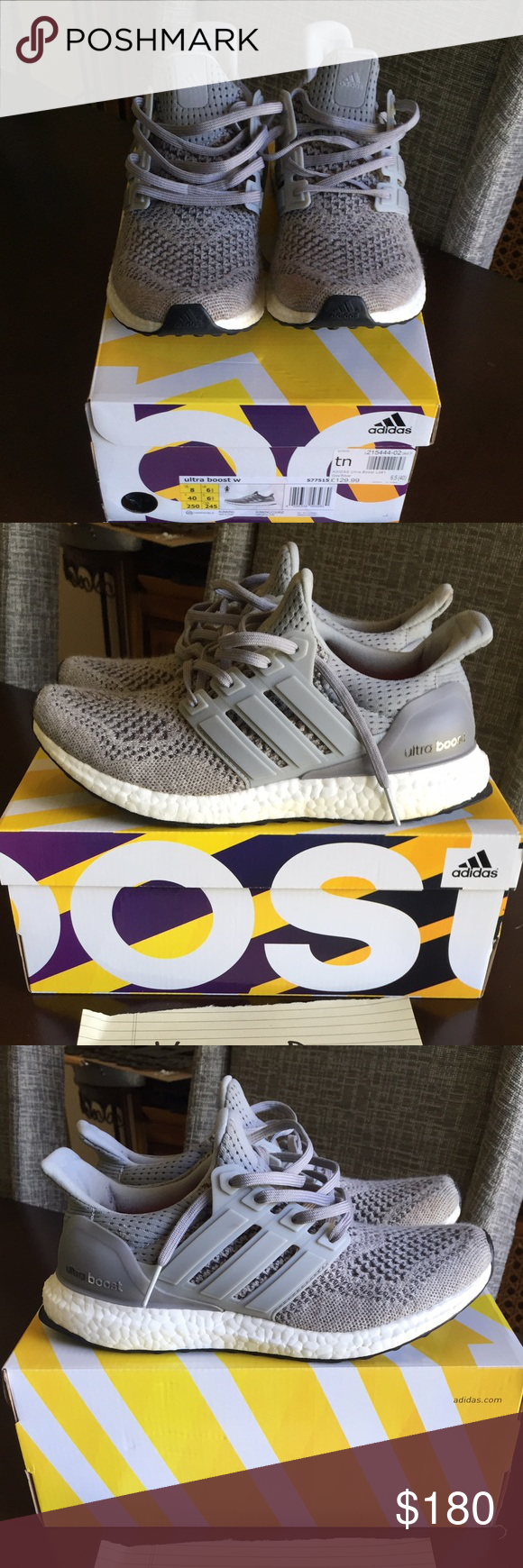 ef068ecff ... wholesale authentic womens adidas wool grey ultra boosts authentic womens  adidas wool grey ultra boosts size