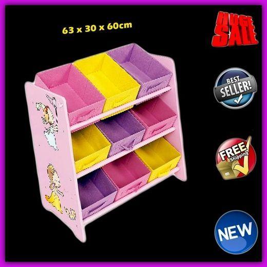 Princess Storage Furniture Girl Kids Bedroom Toy Bin Wood Organizer Unit Child  sc 1 st  Pinterest & Princess Storage Furniture Girl Kids Bedroom Toy Bin Wood Organizer ...