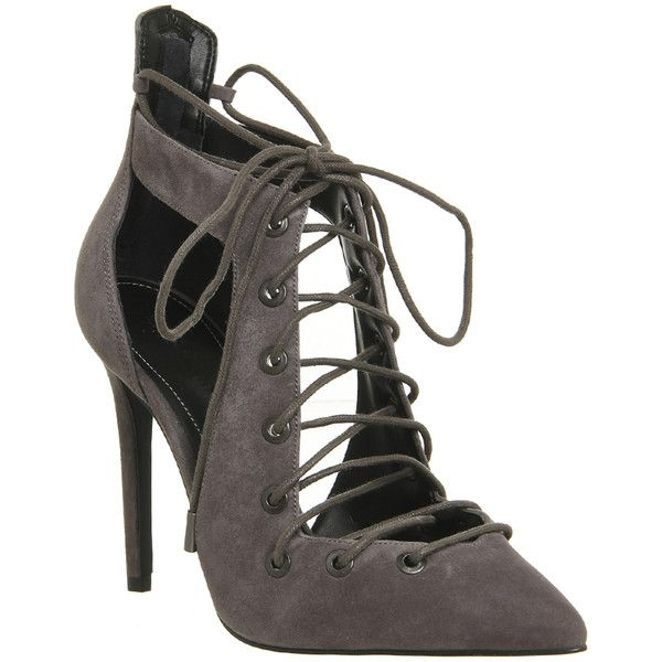 f5ff836d9375f4 Kendall - Kylie Angel Lace Up Heels (2 115 ZAR) ❤ liked on Polyvore ...