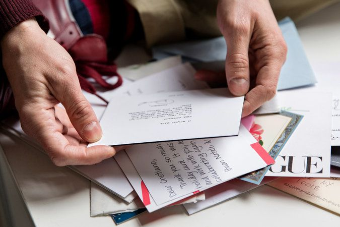 The Found Art of Thank-You Notes Note