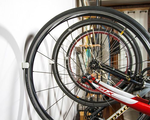 Clug 3d Printed Wall Mounted Bike Racks By Hurdler Studios Bicycle Storage Wall Mount Bike Rack Bike Design