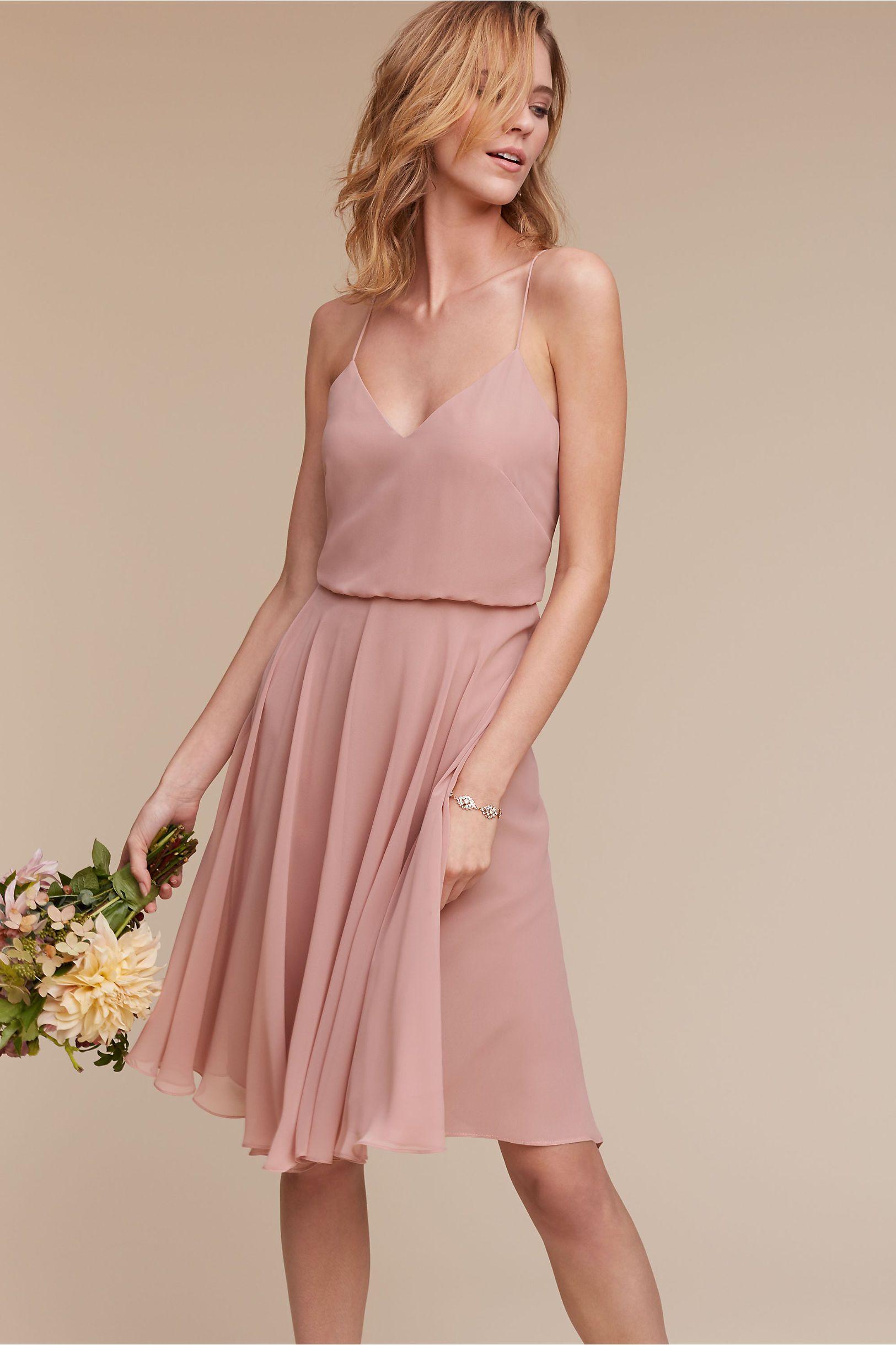 Bridesmaid dress rose quartz maybe navy bridesmaid dresses