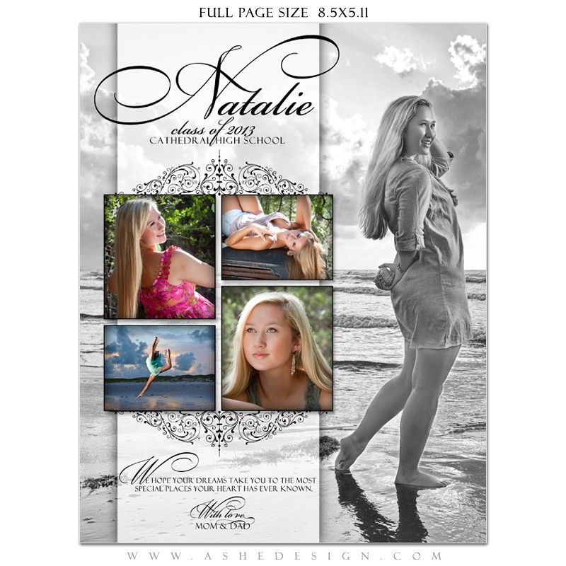 Yearbook Ad Designs - Simply Classic | Yearbooks, Photoshop and Template