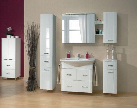 Muebles para ba o con espejo para m s informaci n - Decoracion de espejos de bano ...