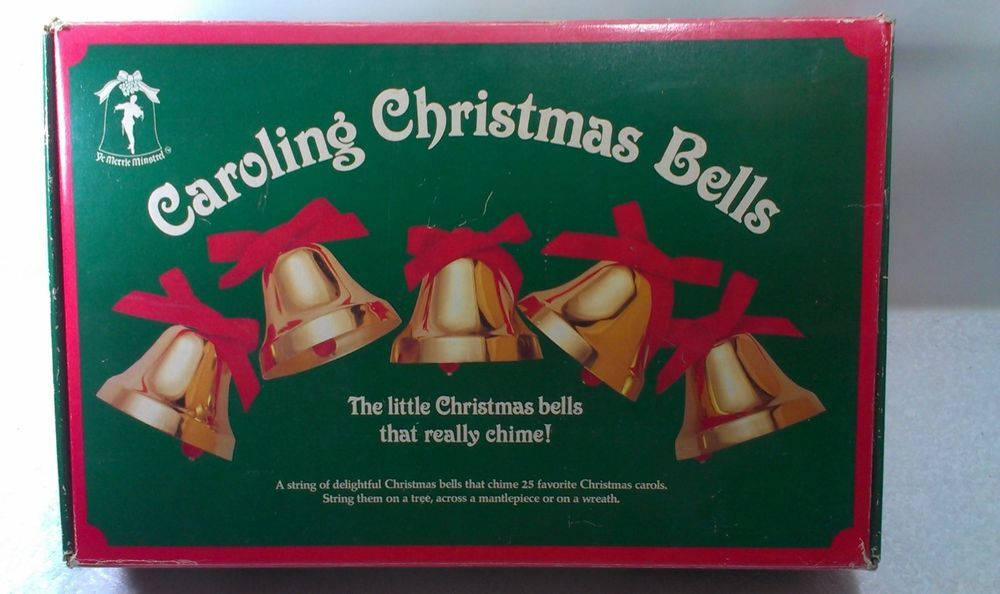 ye merrie minstrel caroling christmas bells aus 100 plays 25 carols