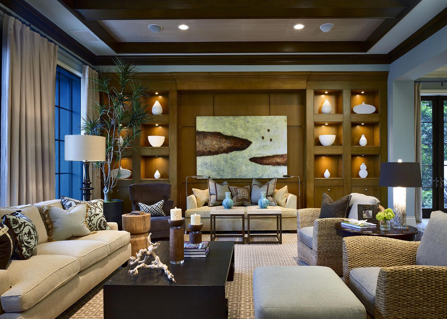Marc Michaels Interior Design, Inc.   Private Residence 5 In Boca Raton, ·  Transitional Living RoomsContemporary ... Part 89