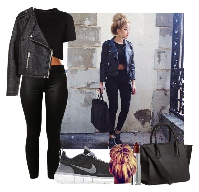 """""""#549"""" by babygyal09 ❤ liked on Polyvore featuring adidas, Être Cécile, H&M, NIKE, Givenchy and plus size clothing"""