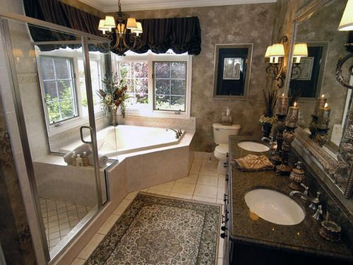Beaudet Gray Traditional Master Bathroom Collections Interior Decor - Decorstate
