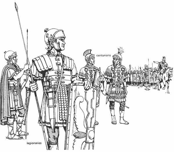 This Website Is Describing The Many Different Clothes Roman Citizens Wore And In Particular This Picture Deals With Ancient Romans Roman Soldiers Ancient Rome