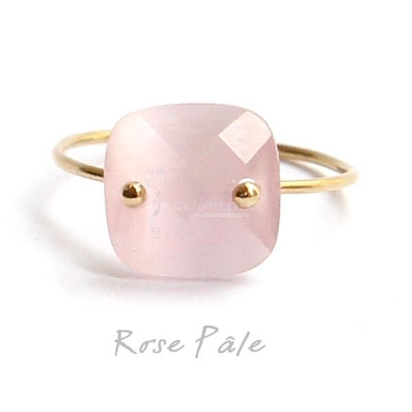 Paloma Stella Bagues en plaque Or rose pale