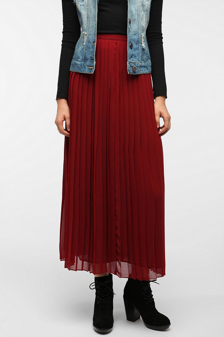 #Urban Outfitters         #Skirt                    #Sparkle #Fade #Pleated #Chiffon #Skirt             Sparkle & Fade Pleated Chiffon Skirt                                          http://www.seapai.com/product.aspx?PID=1644032
