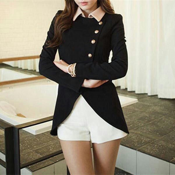 Ladylike Irregular coat