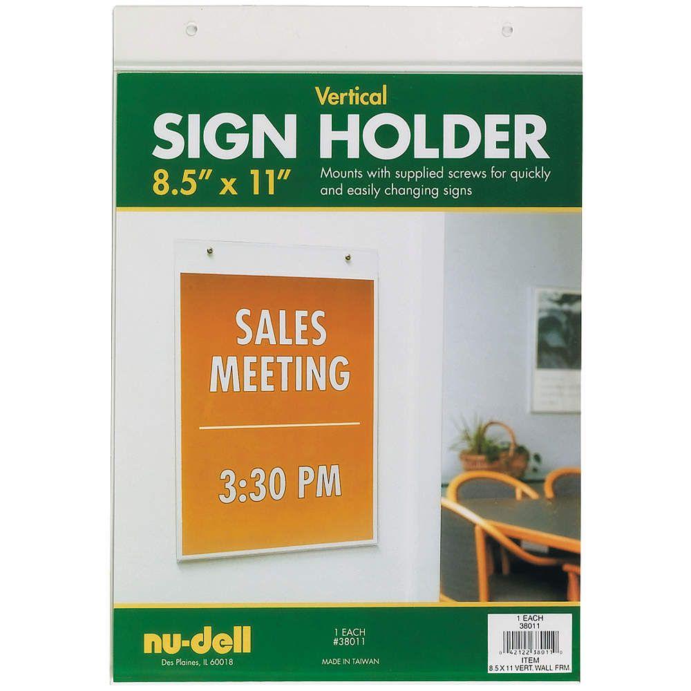 Wp52352 Sign Holder Grainger Industrial Supply Sign Holder Furniture Prices Holder