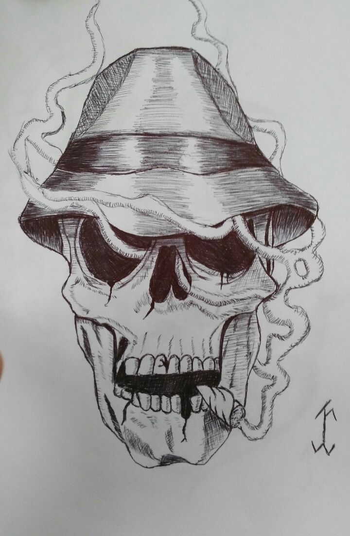 how to draw smoke with pen