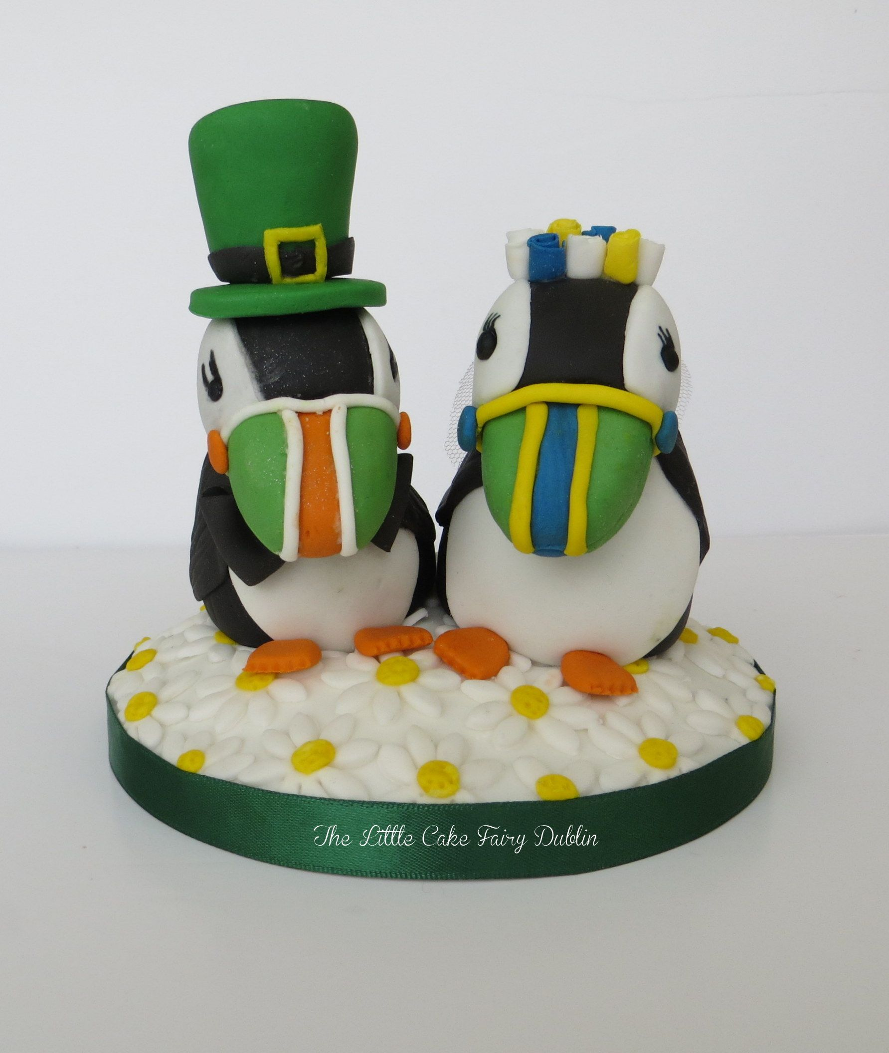 wedding cake toppers northern ireland updated version of my puffins wedding cake topper for an 26556