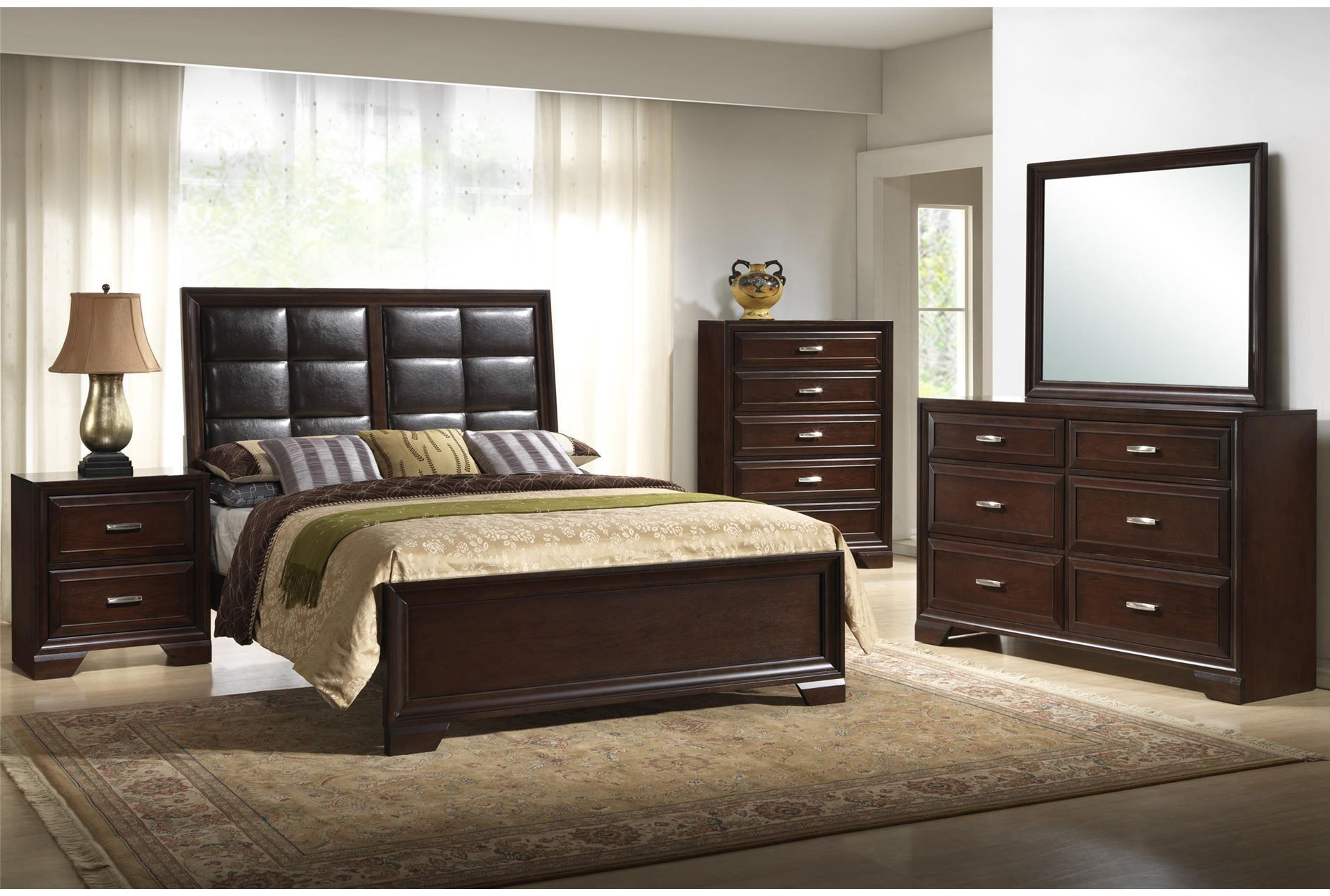 Mimosa Cal King Panel Bed | Master Bedroom Inspirations | Pinterest