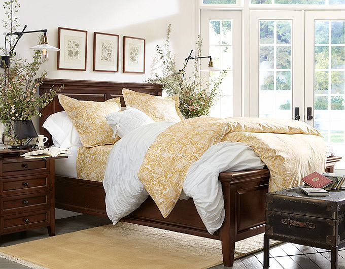 Pottery Barn Master Bedroom Decorating Ideas: Bedroom Accessories & Bedroom Inspiration