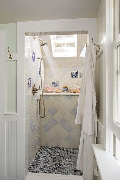 Bathroom Remodels On Fixer Upper from fixer-upper to refined farmhouse | shower enclosure, master