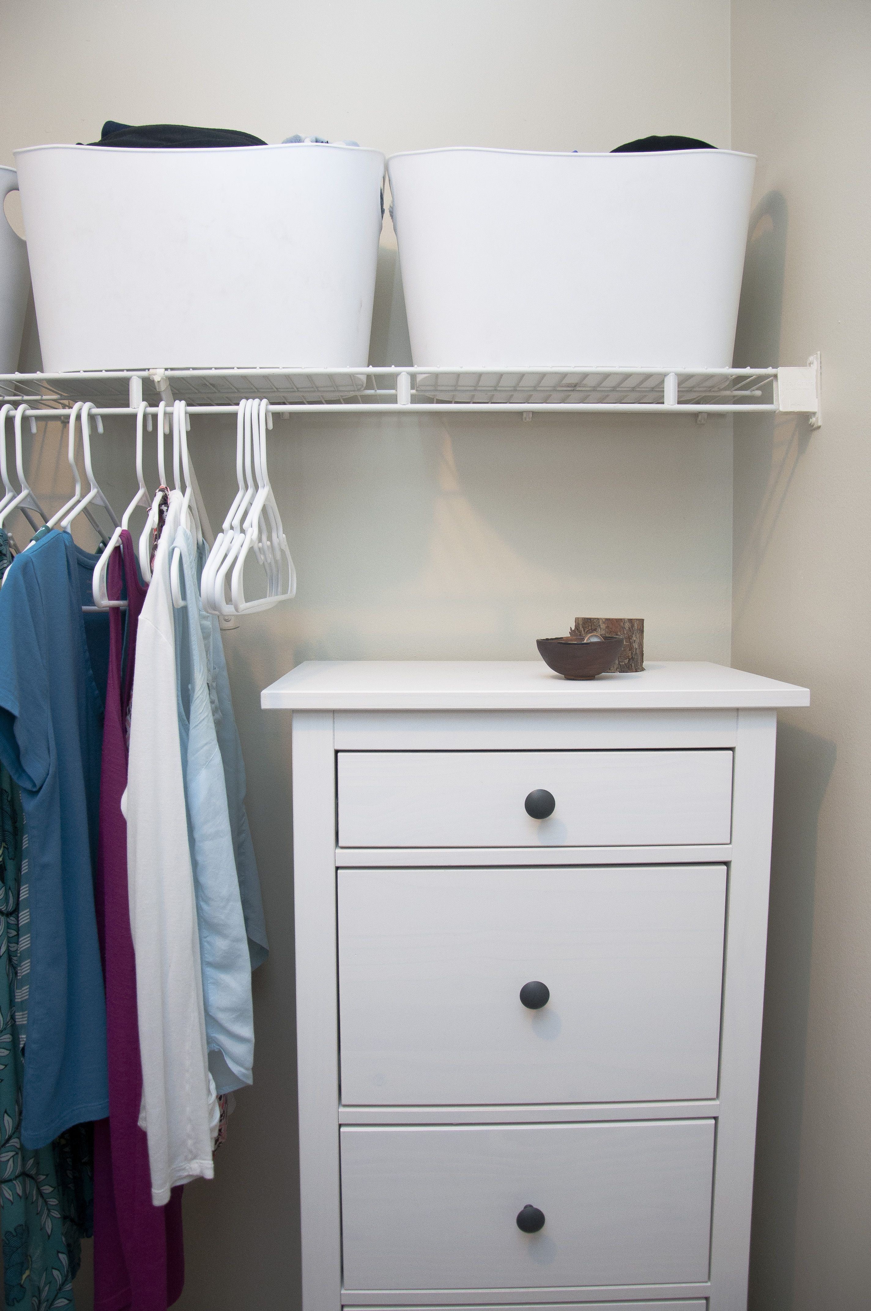 4 Tips To Declutter And Keep It Out Ikea 5 Drawer Ikea Hemnes