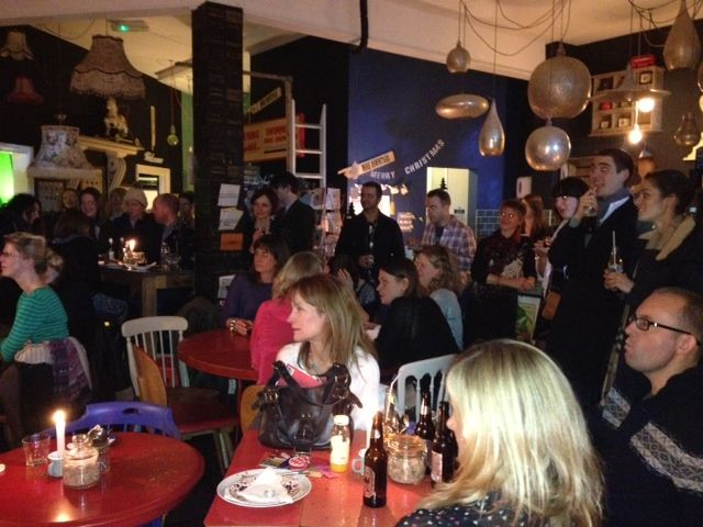 The Lavish Christmas Lounge, an evening of merriment, mulled wine and lovely festive live music!