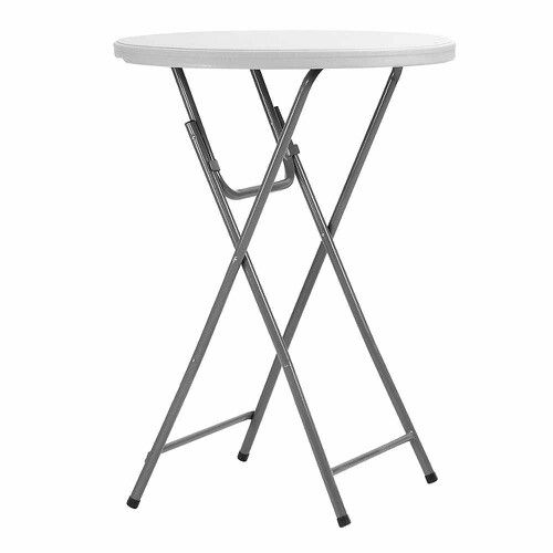 Delicieux ~Tall~ Folding Tables For Back Of Room Great Idea!  Http://m.samsclub.com/ip/maxchief 32 Round Bar Height Event Table  White/prod3100067