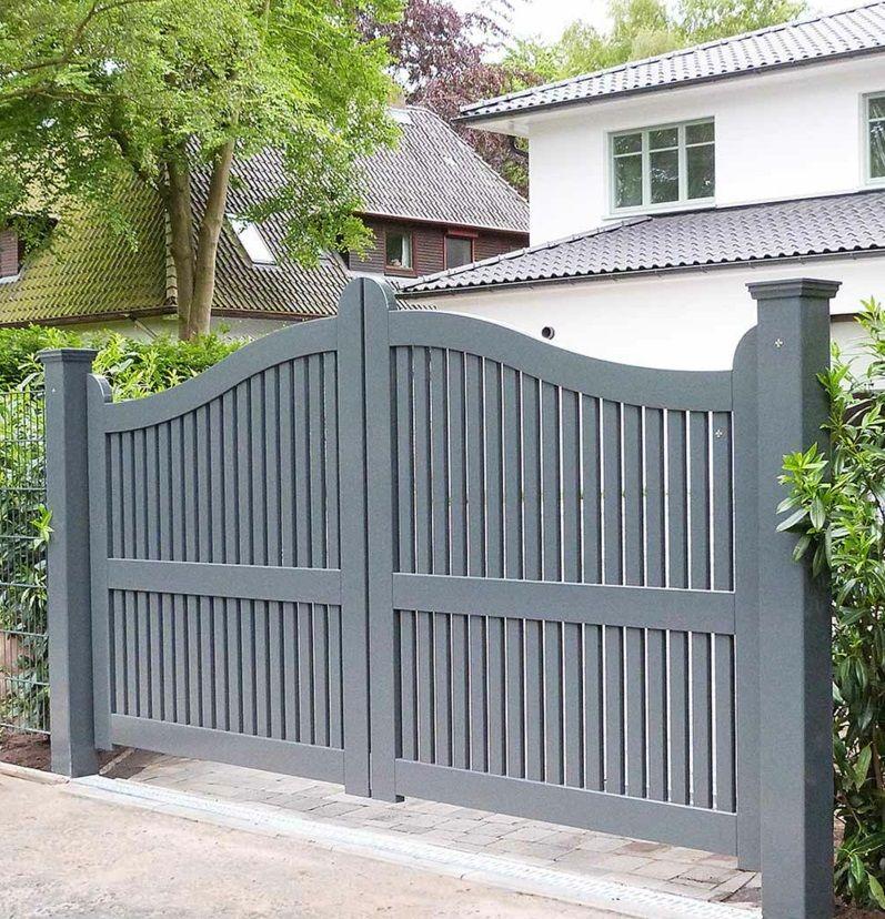 Gartentor Holz Rustikales Vs Modernes Design Garage Doors