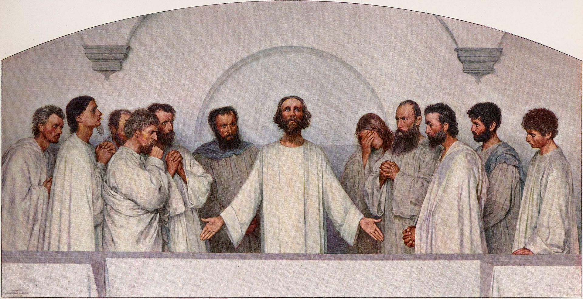 Eugene Burnand - Das hohepriesterliche Gebet