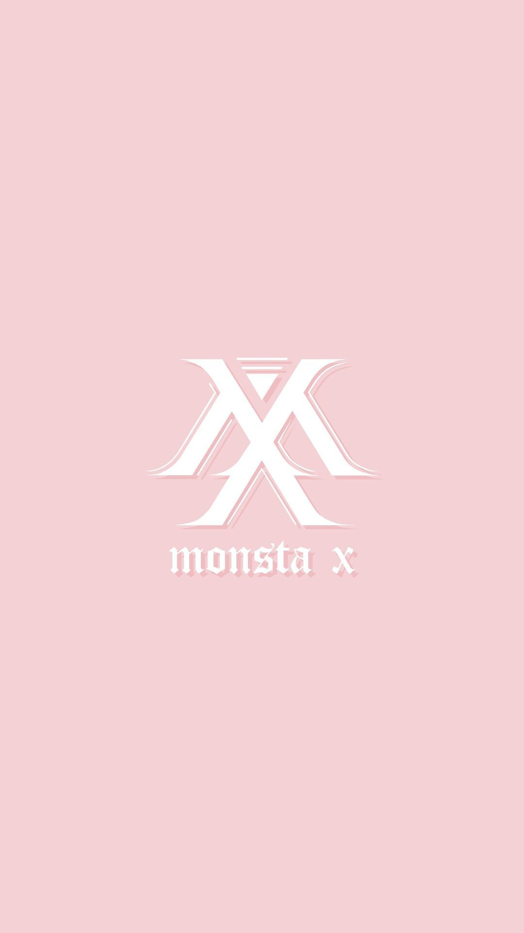 Image Result For Monsta X Logo Wallpaper Monsta X Wallpaper Pink Wallpaper Iphone