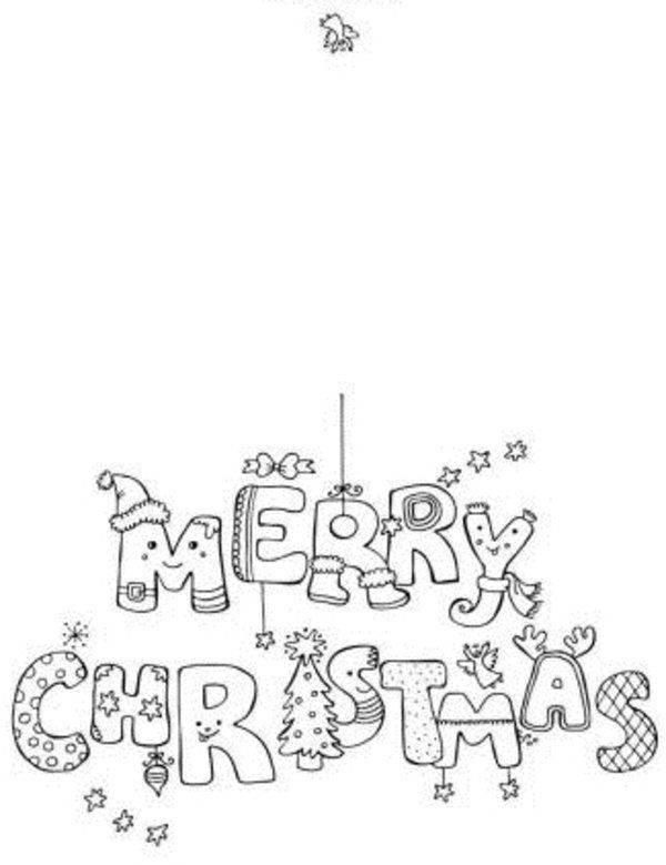Free Printable Christmas Cards Coloring Pages 1000 CSnmDSBX