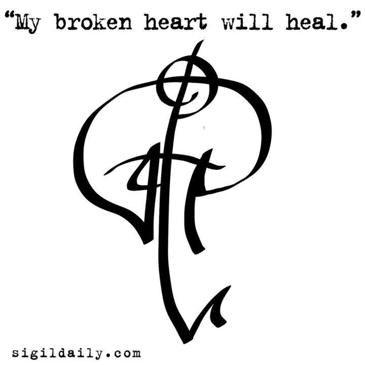 My Broken Heart Will Heal Book Of Shadows Creativity Pinterest