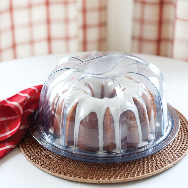 Deluxe bundt cake keeper bundt cake bundt nordic ware