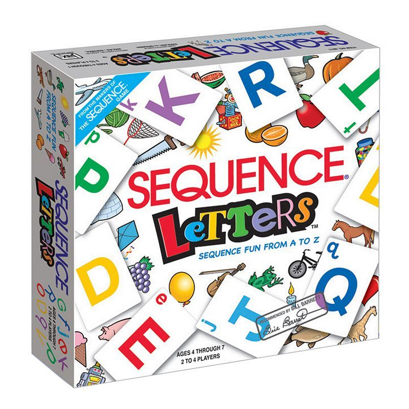 Sequence Letters Game by Jax Ltd., Multicolor