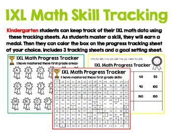 Students Will Love To Track Their Progress On Ixl Math Using These Progress Monitoring Sheets With 3 Different Sheets To Ixl Math Math Student Data Notebooks Ixl maths worksheets for grade 2