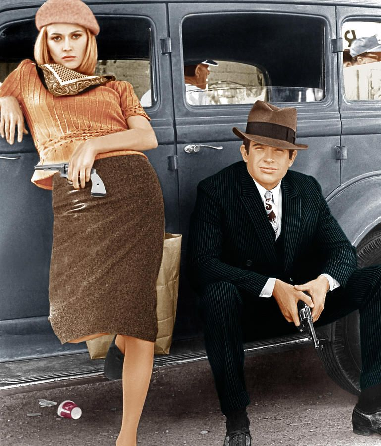 Amato Bonnie Parker and Clyde Barrow were the most famous gangster  IY37