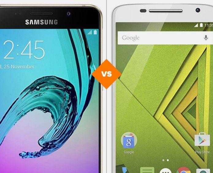 Galaxy A5 2016 ou Moto X Play: veja o comparativo de especificações (Foto: Arte/TechTudo)
