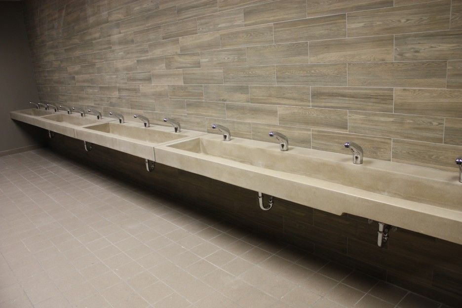 Public Bathroom Sink long sink - google search | public toilet | pinterest | public