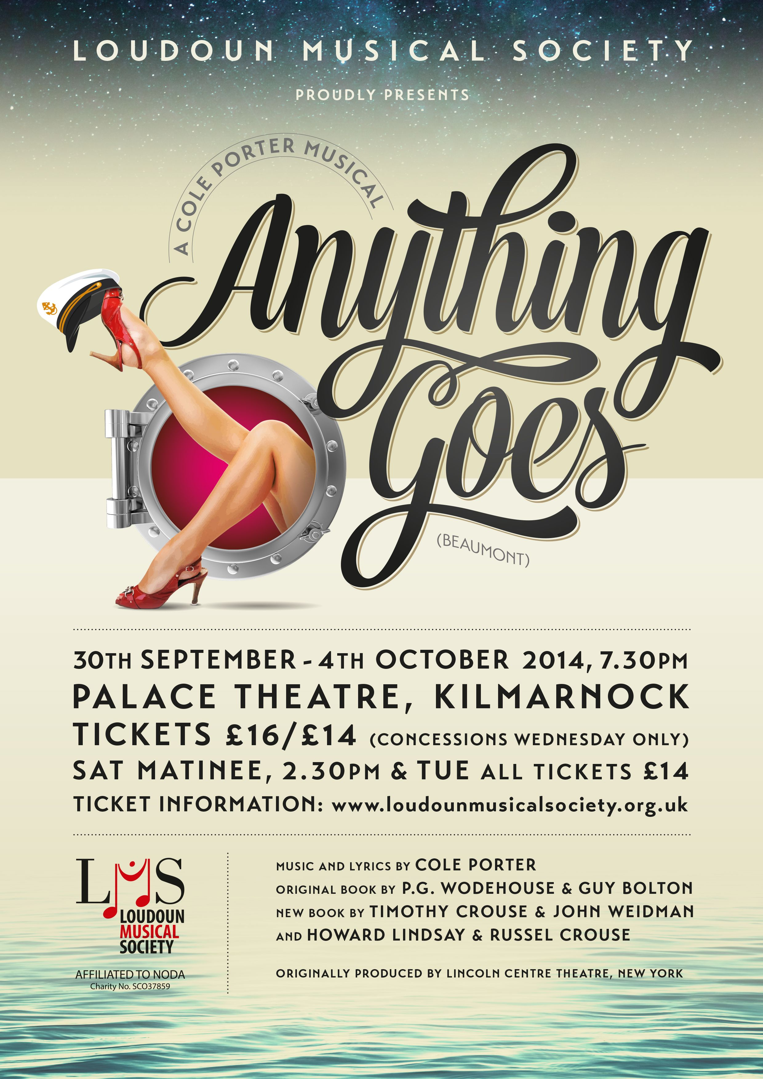 Anything Goes Poster 2 Musicals Musical Theatre Lyrics
