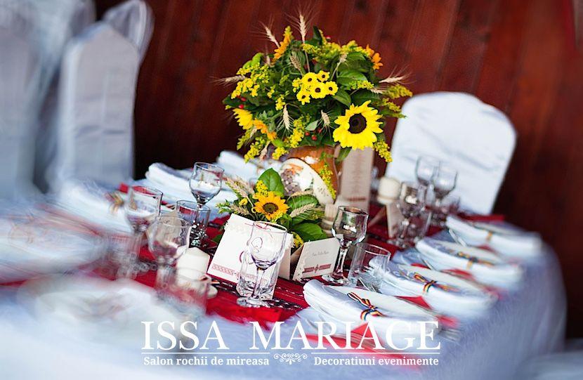 Aranjamente Nunta Traditionale Romanesti Decor Sala Cu Aranjamente