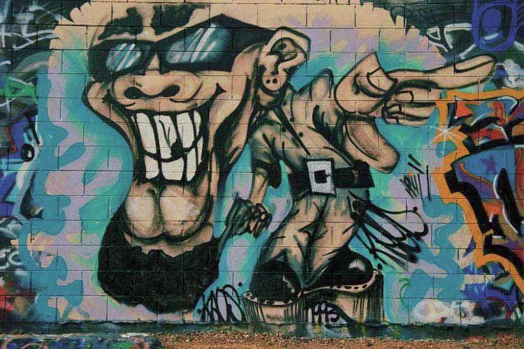 A finales de los setenta el graffiti alcanz su punto ms lgido